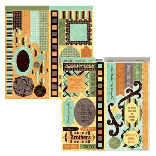 Moxxie - Forever Family Collection - Cardstock Die Cuts