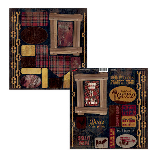 Moxxie - Farm Livin' Collection - Cardstock Die Cuts