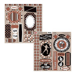 Moxxie - Grid Iron Collection - Cardstock Die Cuts