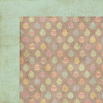 Homespun Easter Collection - 12 x 12 Double Sided Paper - Egg-streme by Moxxie