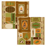 Moxxie - Happy Camper Collection - Cardstock Die Cuts