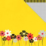 Moxxie - Magical Moments Collection - 12 x 12 Double Sided Paper - Daisies