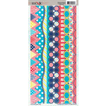 Moxxie - Midway Madness Collection - Cardstock Stickers - Borders