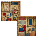 Moxxie - Nautical Collection - Cardstock Die Cuts