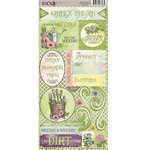Moxxie - Quite Contrary Collection - Cardstock Stickers - Elements