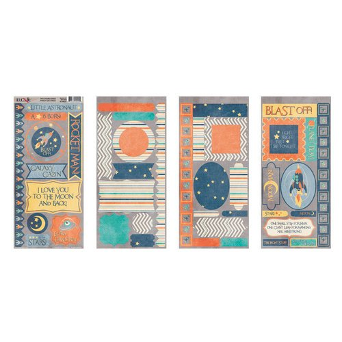 Moxxie - Reach for the Stars Collection - Cardstock Die Cuts