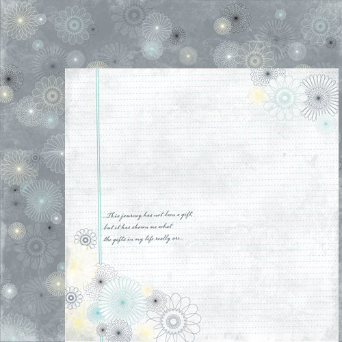 Moxxie - Road to Recovery Collection - 12 x 12 Double Sided Paper - Life's Gifts