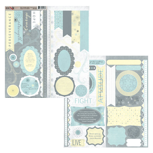 Moxxie - Road to Recovery Collection - Cardstock Die Cuts