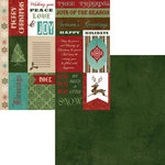 Moxxie - Season's Greetings Collection - Christmas - 12 x 12 Double Sided Paper - Season's Greetings Cutouts