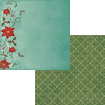 Moxxie - Season's Greetings Collection - Christmas - 12 x 12 Double Sided Paper - Holly Jolly