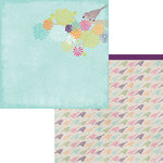 Moxxie - Springtime Collection - 12 x 12 Double Sided Paper - Songbirds