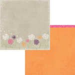 Moxxie - Springtime Collection - 12 x 12 Double Sided Paper - Dandelion Wishes
