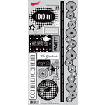 Moxxie - Senior Year Collection - Cardstock Stickers - Elements