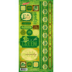 Moxxie - St. Patrick's Day Collection - Cardstock Stickers - Elements