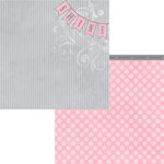 Moxxie - Tiny Dancer Collection - 12 x 12 Double Sided Paper - Shine