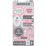 Moxxie - Tiny Dancer Collection - Cardstock Stickers