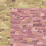 Moxxie - VIP Collection - 12 x 12 Double Sided Paper - Aunt Niece