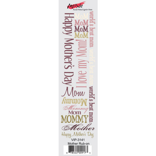 Moxxie - VIP Collection - Rub Ons - Mother