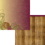 Moxxie - Winery Collection - 12 x 12 Double Sided Paper - Aged to Perfection