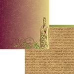 Moxxie - Winery Collection - 12 x 12 Double Sided Paper - Fine Wine