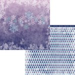 Moxxie - Winterland Collection - 12 x 12 Double Sided Paper - Frozen