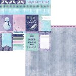 Moxxie - Winterland Collection - 12 x 12 Double Sided Paper - Winterland Cutouts