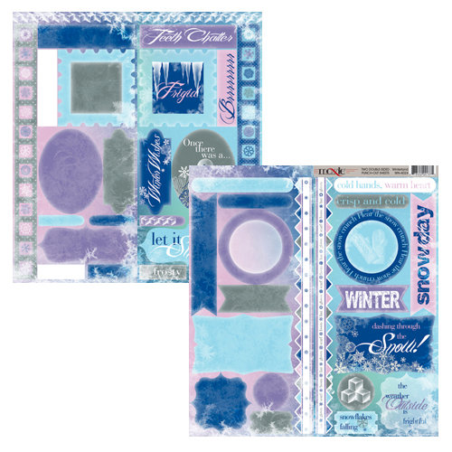Moxxie - Winterland Collection - Cardstock Die Cuts