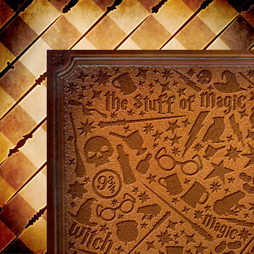 Moxxie - Wizardry Collection - 12 x 12 Double Sided Paper - Wizard Wares