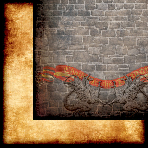 Moxxie - Wizardry Collection - 12 x 12 Double Sided Paper - Dragon's Lair