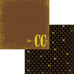 Moxxie - Cross Country Collection - 12 x 12 Double Sided Paper - Cross Country
