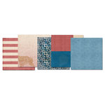 E-Kit Papers (Digital Scrapbooking) - American Made 1