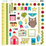Nikki Sivils - School is Cool Collection - 12 x 12 Punch Outs
