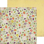 Nikki Sivils - Get Well Soon Collection - 12 x 12 Double Sided Paper - Germs