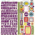 Nikki Sivils - Get Well Soon Collection - 12 x 12 Cardstock Stickers