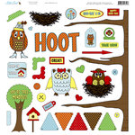 Nikki Sivils - You're A Hoot Collection - 12 x 12 Punch Outs