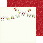 Nikki Sivils - Gingerbread Land Collection - Christmas - 12 x 12 Double Sided Paper - Drying Out