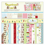 Nikki Sivils - Gingerbread Land Collection - Christmas - 12 x 12 Collection Kit