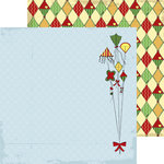 Nikki Sivils - We Are Family Collection - 12 x 12 Double Sided Paper - Kite Daze