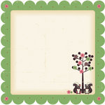 Nikki Sivils - Max and Mollie Collection - 12 x 12 Die Cut Paper - Little Stinkers