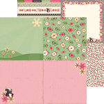 Nikki Sivils - Max and Mollie Collection - 12 x 12 Double Sided Paper - Max and Mollie's Minis