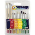 Loew-Cornell - American Painter - All-Purpose Brush Set