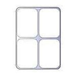 ScrapOnizer - The Clear Solution - Scrapbook and Craft Toolbox - 4 Compartments - Individual Trays