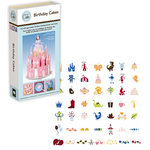 Provo Craft - Cricut Cake - Personal Electrontic Cutting Machine for Cake Decorating - Birthday Cakes - Shapes Phrases and Font Cartridge