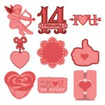 Provo Craft - Cricut Personal Electronic Cutting System - Shape Cartridge - Valentine's Day