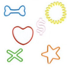 Pepperell Crafts - Memory Shape Rubber Bands - Fun Shapes