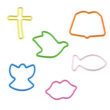 Pepperell Crafts - Memory Shape Rubber Bands - Love