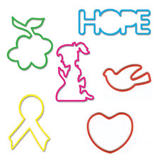Pepperell Crafts - Memory Shape Rubber Bands - Hope