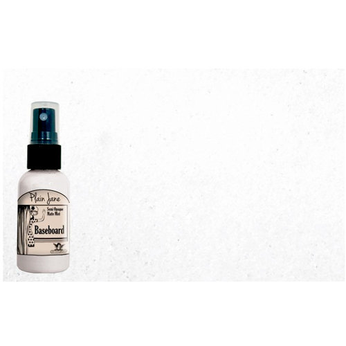 Tattered Angels - Plain Jane Collection - Baseboard - Semi Opaque Matte Mist - 2 Ounce Bottle - Ivory