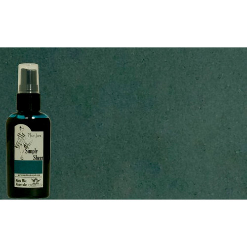 Tattered Angels - Plain Jane Collection - Simply Sheer - Watercolor Matte Mist - 2 Ounce Bottle - Teal