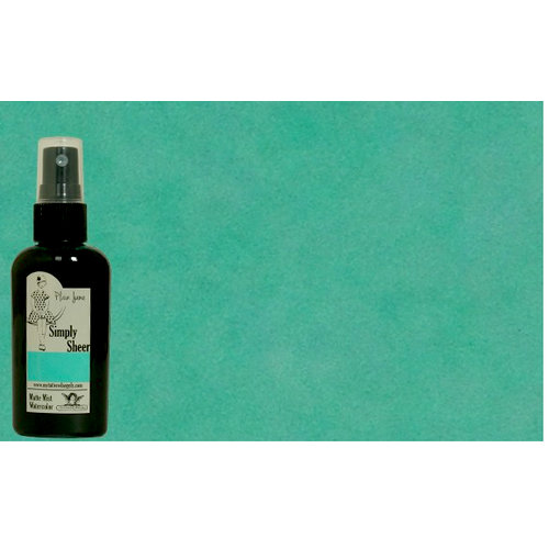 Tattered Angels - Plain Jane Collection - Simply Sheer - Watercolor Matte Mist - 2 Ounce Bottle - Aqua